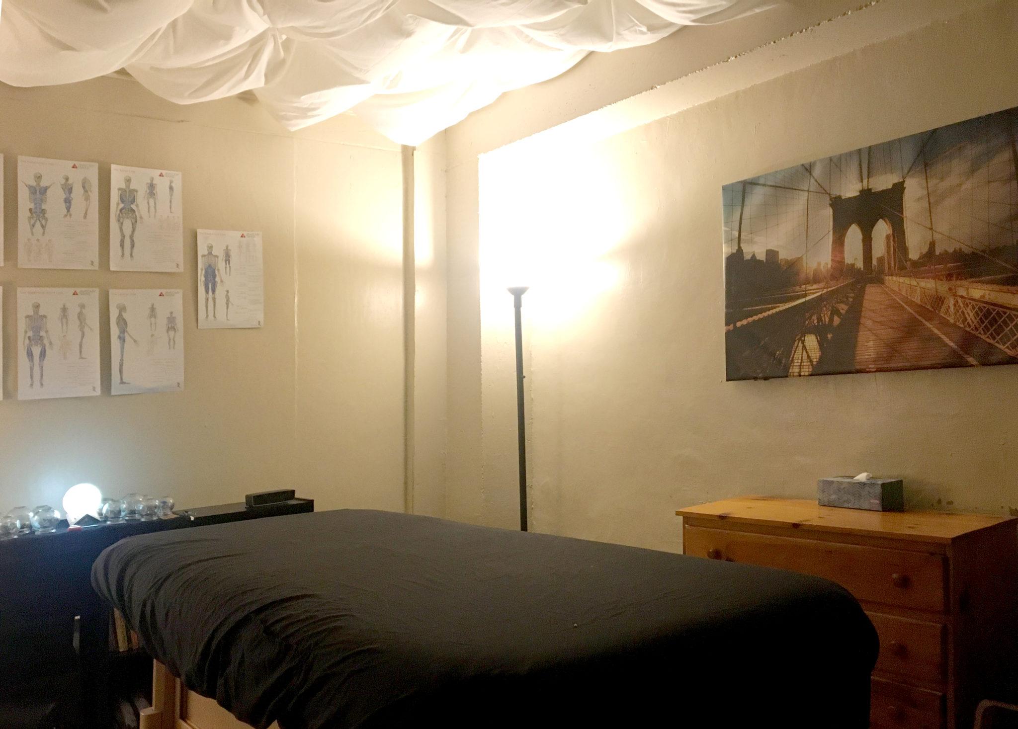 Tui Na massage therapy room