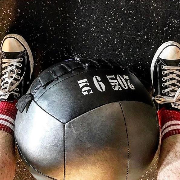 20 lb ball at KES Fitness