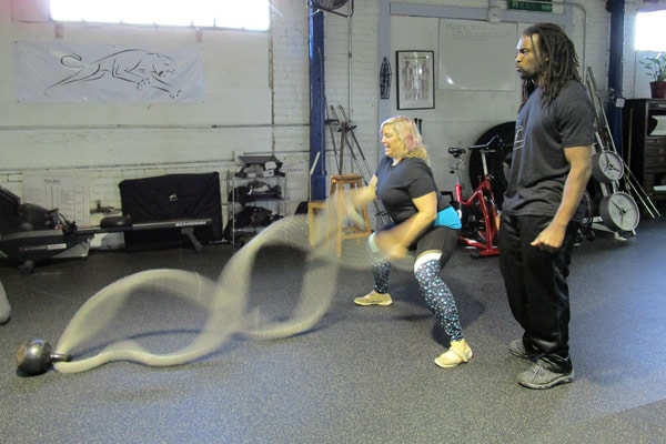 Kewesi with personal training ropes Oakland CA