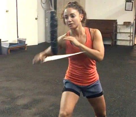 Womens self defense at KES Fitness