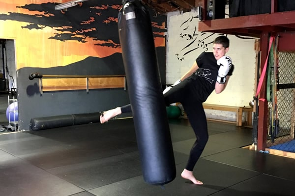 muay thai martial arts training kick Oakland CA