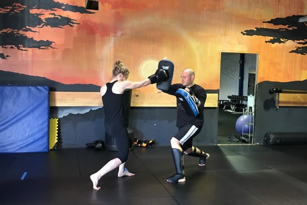 muay thai martial arts punch Oakland CA