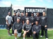 Oakland Raiders fitness coaches