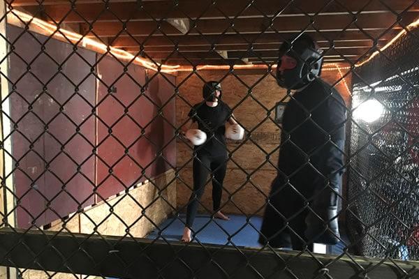 womens self defense cage