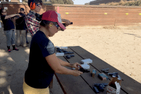 women's survival self defense firearm shooting training